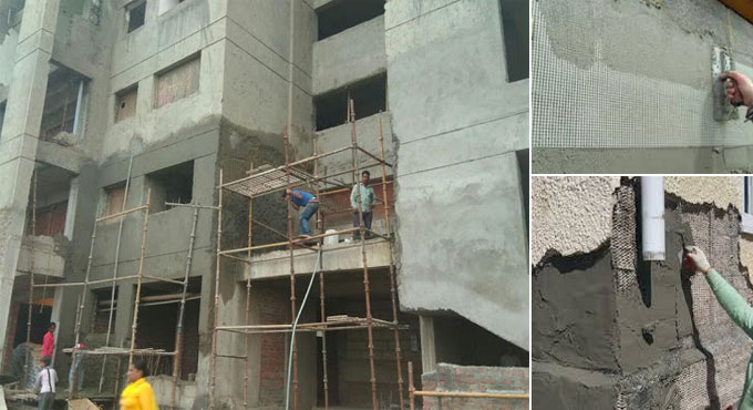 External Plastering Work Checklist - To follow in Building Construction