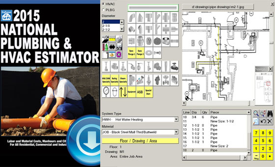 2015 National Plumbing Hvac Estimator Software Download