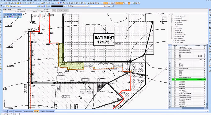 How a quantity surveyor can make calculation with DWG or PDF files or scanned images