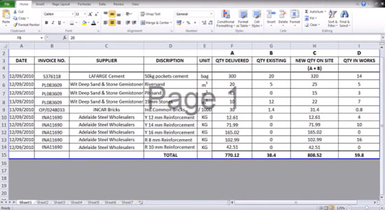 Software For Quantity Surveyor Free Download
