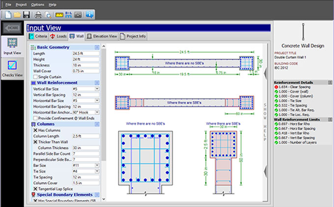 Beautiful QuickConcreteWall U2013 A Useful Construction Program For Concrete Shear Walls  Design
