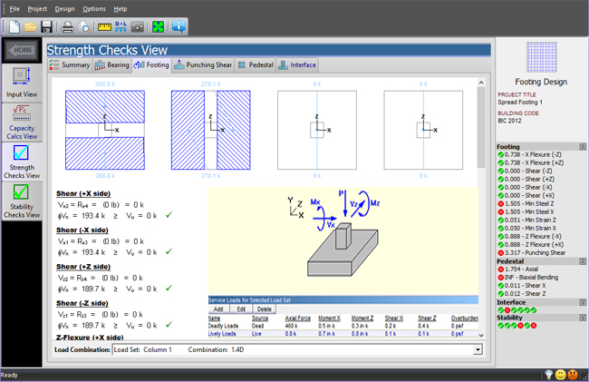 QuickFooting – An exclusive construction program to design spread footings automatically