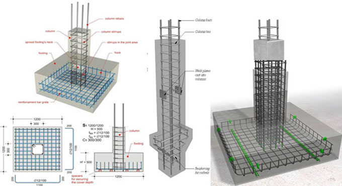 Guidelines for rebar detailing of RCC structures