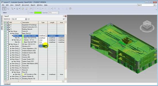 Revit Architecture Autodesk Qto Creating A Detailed