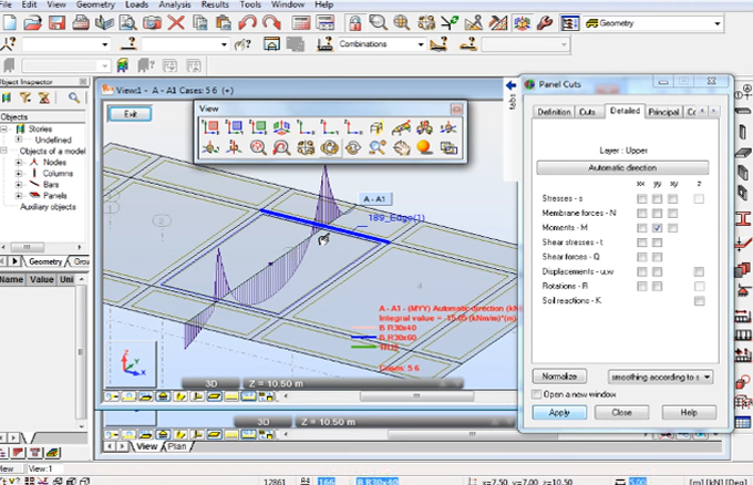 How to apply Robot Structural Analysis for perfect RC Slab Design