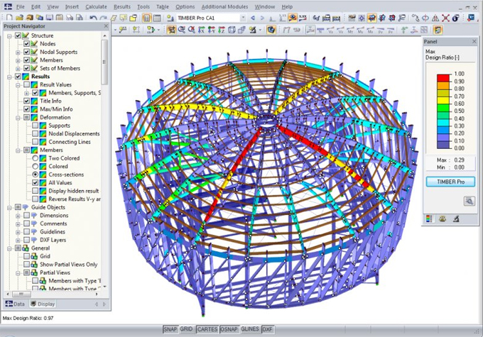 RSTAB is a useful construction program for structural analysis