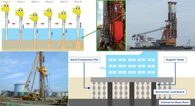 Details of Sand Compaction Piles