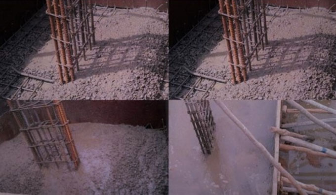 Effect of segregation and bleeding on quality of concrete
