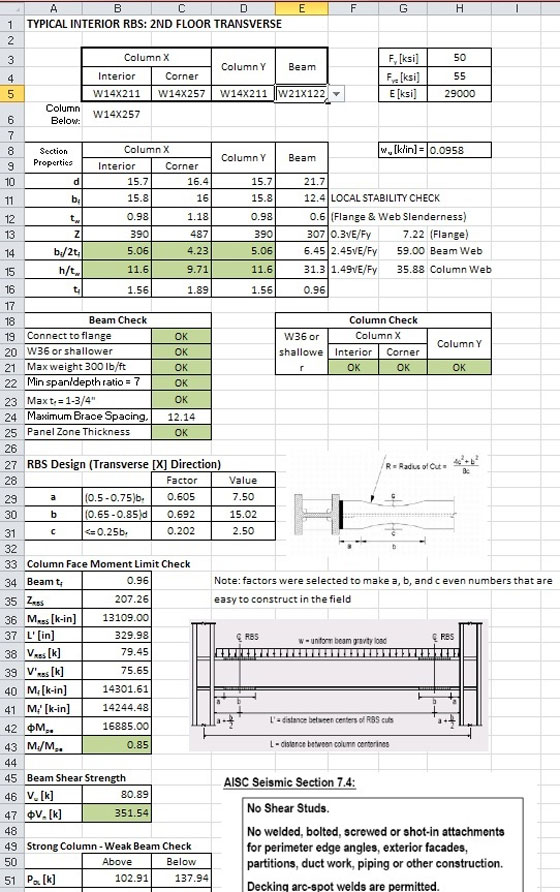 Steel Roof Truss Design Calculator Excel Best Image