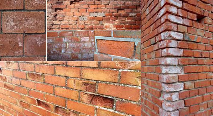 Some useful guidelines to substitute the spalling bricks