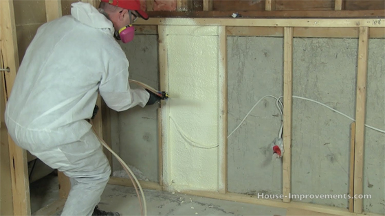 Keep your building stronger with Spray Foam Insulation