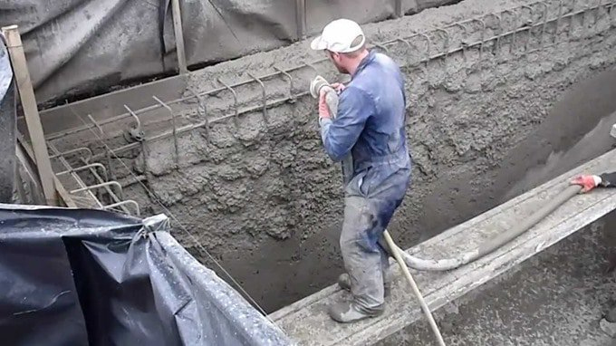 The properties and application of sprayed concrete