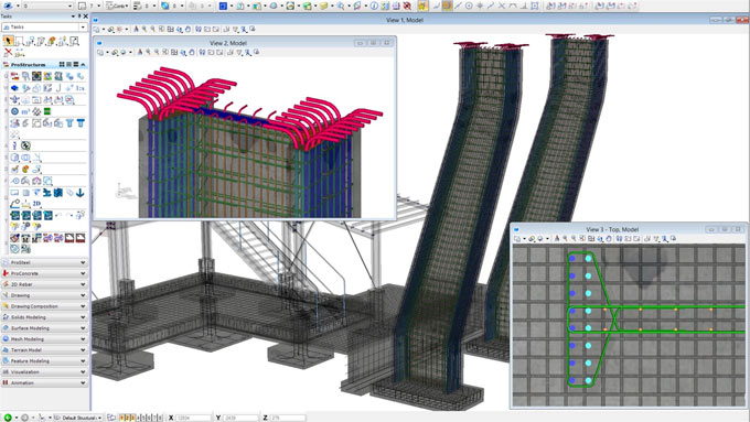 ProStructures is an exclusive Steel and Concrete Design Software