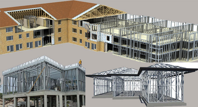 Using Light Gauge Steel Frames in Construction