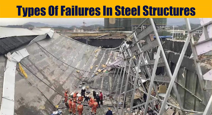 Types of Failures in Steel Structures