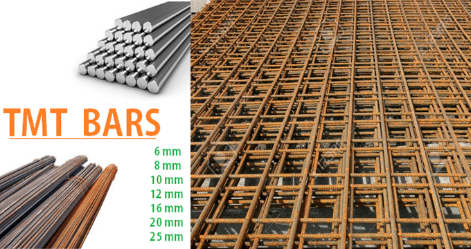 Benefits of steel/TMT Bars in construction industries