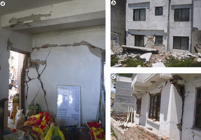 Details about structural and non structural defects in buildings