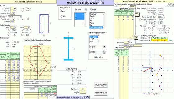 Structural Engineering Spreadsheet | Construction Program