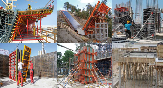 Types of formwork materials and their benefits