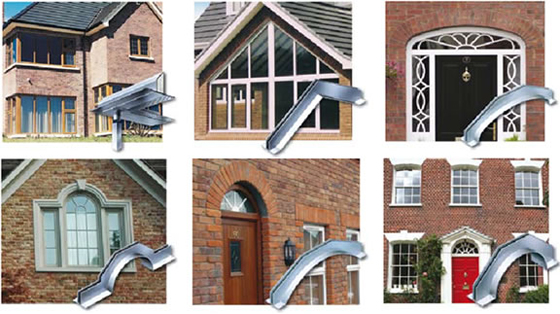 Definitions and types of Lintels