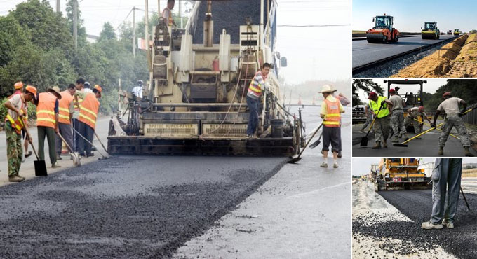 Common types of road construction