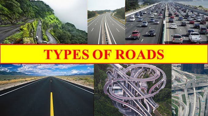 Types of Roads and Their Details