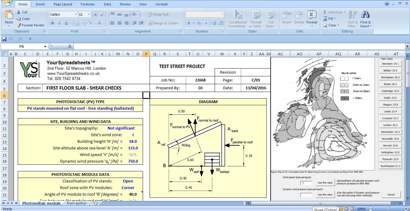 Solar Panel Analysis Tool – Hvac Load Calculation Worksheet